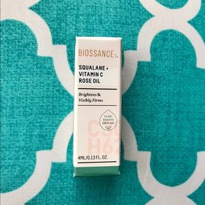 Other - BIOSSANCE Squalane + Vitamin C Rose Oil